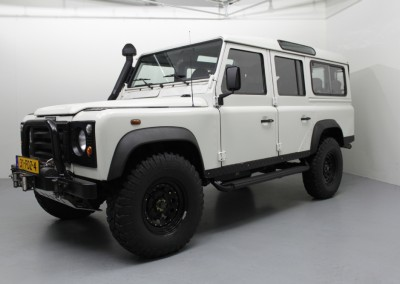 Land Rover – defender 110 9 persoons