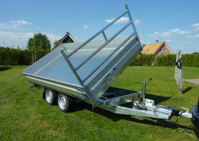 Aanhanger – Hapert E-Multie 3 zijdige kipper 3000 kg nieuw model 2014