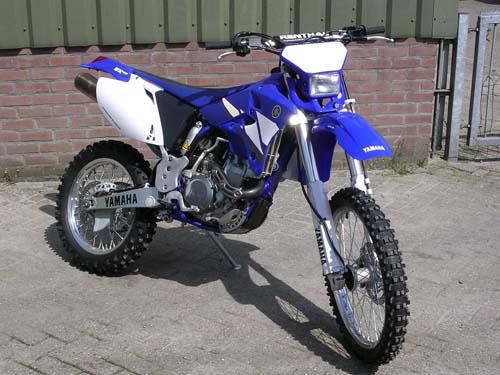 Motor - Yamaha wr 450 enduro 001
