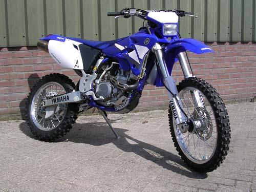 Motor - Yamaha wr 450 enduro