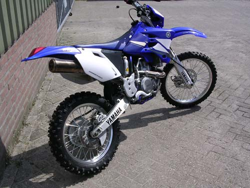 Motor - Yamaha wr 450 enduro 007