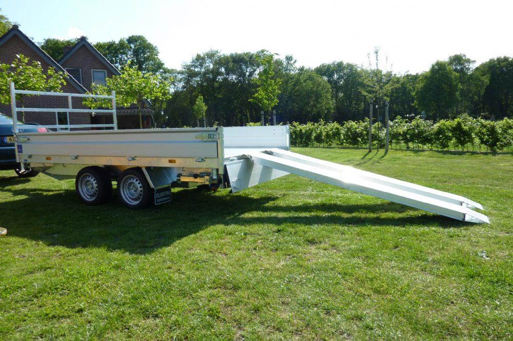 Aanhanger - Hapert E-multi 2700 kg nieuw 3-zijdige Kipper