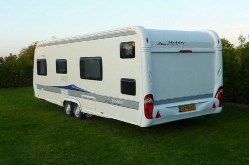 Caravan - hobby kfu 650 2010