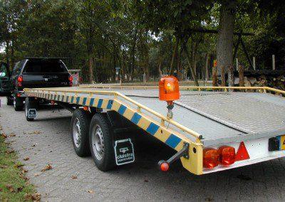 Aanhanger – schamel autotransporter