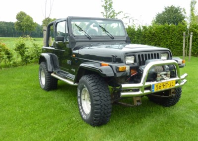 Jeep – wrangler 4.0 super 4×4 met lucht lockers