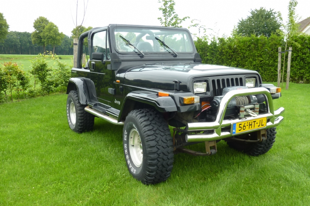 Jeep - wrangler 4.0 super 4x4 met lucht lockers