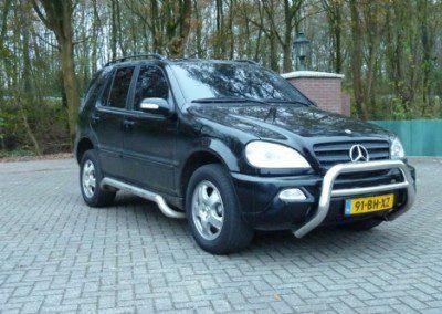 Mercedes-benz – mercedes m-klasse 2.7 crd van