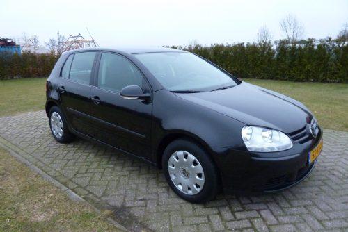Volkswagen - golf 1.4 fsi buisnes line 5 deurs zwart