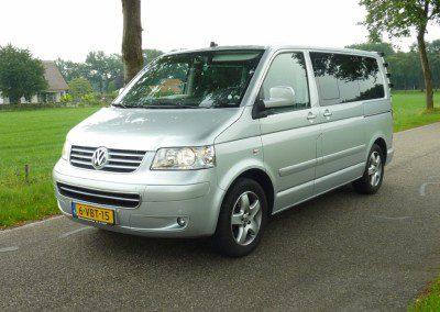 Volkswagen – vw multivan 174 pk 2008 geel kenteken 7 persoons