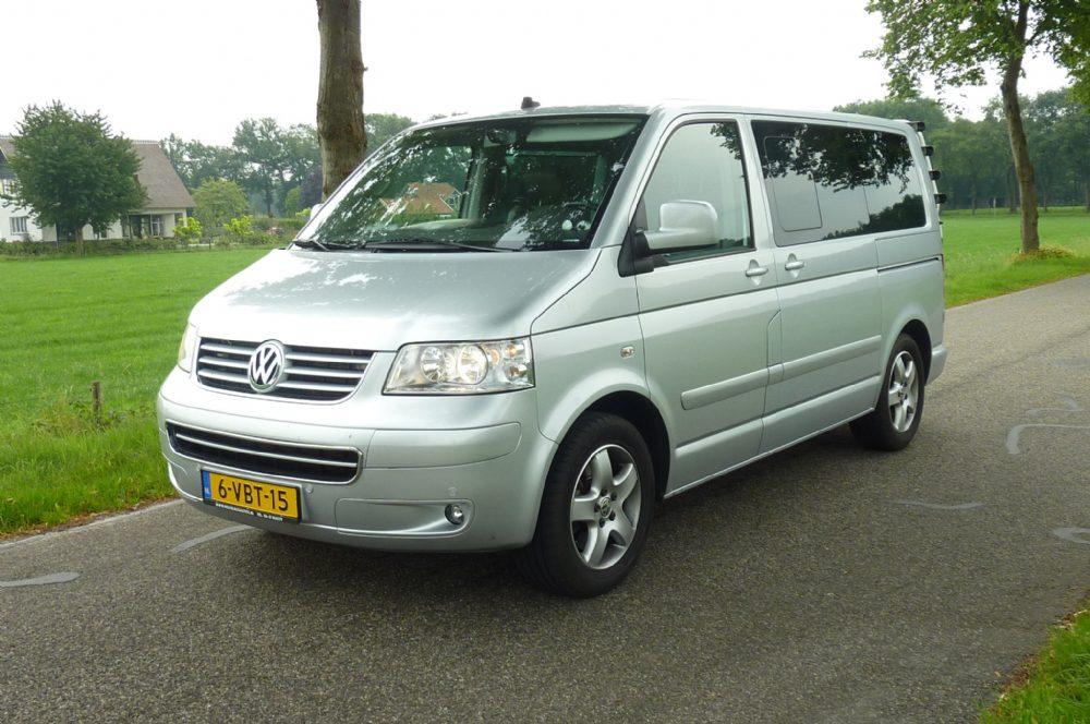 Volkswagen - vw multivan 174 pk 2008 geel kenteken 7 persoons