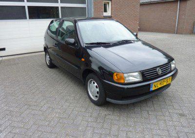 Volkswagen – polo zwart 1.4 44 kw