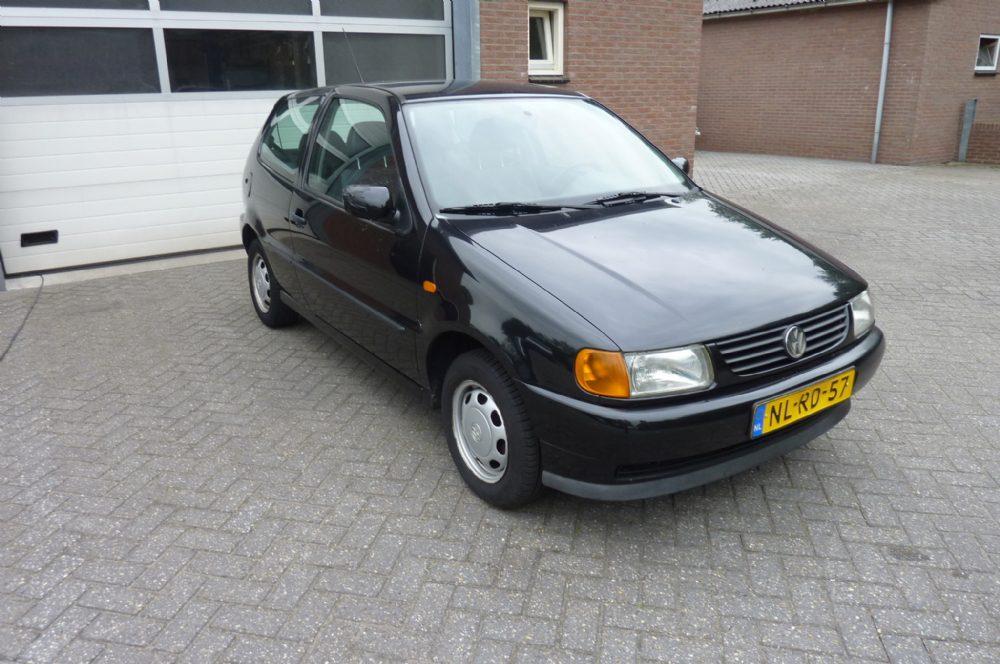 Volkswagen - polo zwart 1.4 44 kw