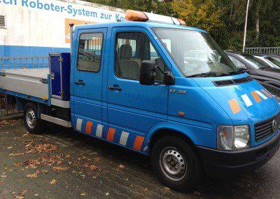 Volkswagen – LT 35 kipper kraantje