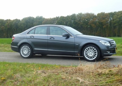Mercedes-benz – Mercedes C-180 Kompr. 2009 Grijs full options groot navi