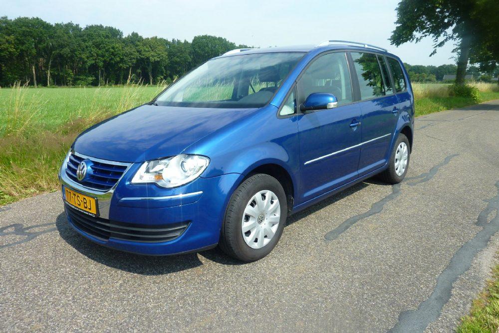 Volkswagen Touran 1.9 TDI 77KW 2007 Blauw